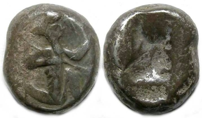 Ancient Coins - Royal Persian Coinage. ca. 450 to 330 BC