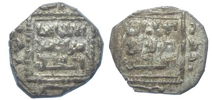 Ancient Coins - Ayyubid. Saladin, AD 1160 to 1193. Silver 1/2 Dirhem.