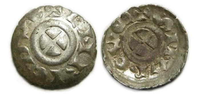 Ancient Coins - Italy, Venice. Enrico Dandolo. AD 1192-1205. Silver Quarteruolo.