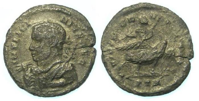 Ancient Coins - Licinius I, AD 308-324. Billon Argentius.