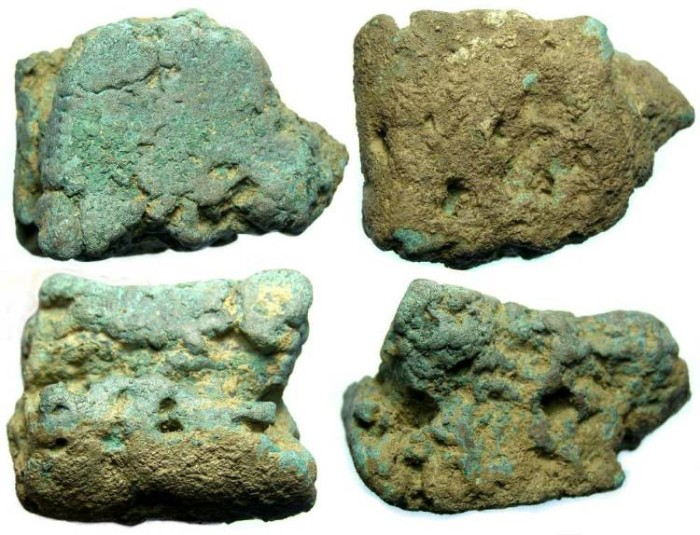 Ancient Coins - Roman Republic.  Aes Rude. 253 GRAMS (large for an Aes Rude).