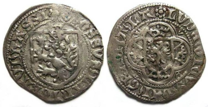 Ancient Coins - Germany. Hessen-Kassel, Ludwig I, AD 1413 to 1458.