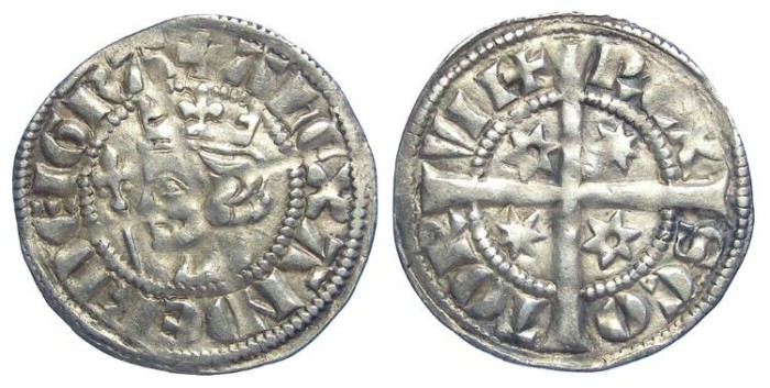 Ancient Coins - Scotland, Alexander III, AD 1249 to 1286. Silver penny