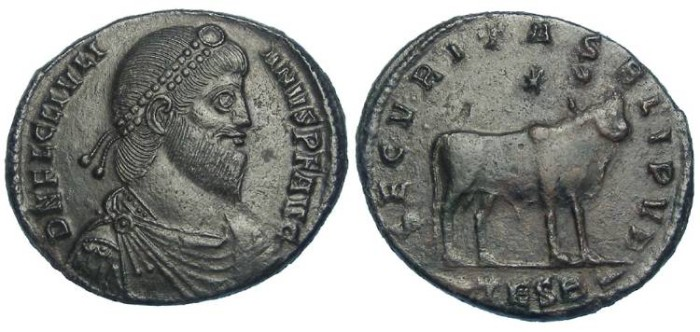 Ancient Coins - Julian II. AD 361 to 363. AE 1.