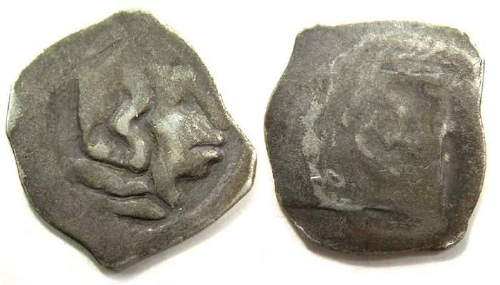 Ancient Coins - Austria, Vienna. Albrecht III, AD 1358 to 1395. Silver Pfennig.