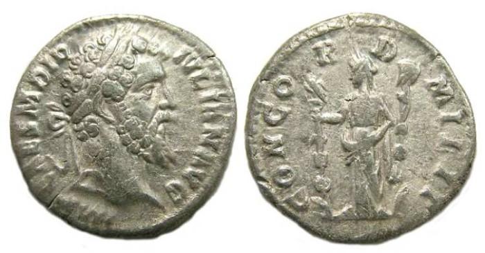 Ancient Coins - Didius Julianus, AD 193. Silver denarius