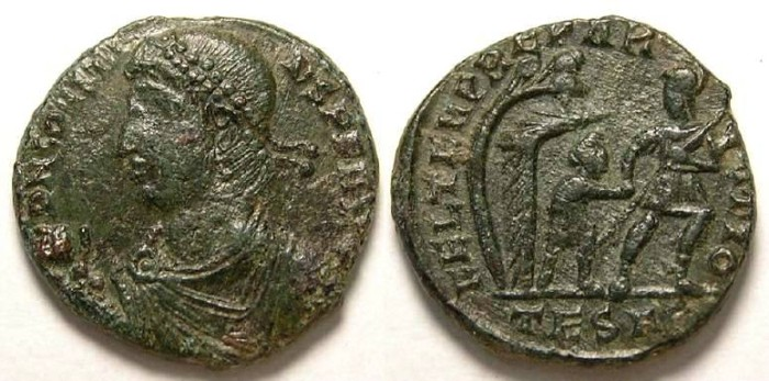 Ancient Coins - Constans. AD 337 to 350. AE Centenionalis.