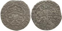 World Coins - English, Edward IV first reign of AD 1461 to 1470. Silver groat.
