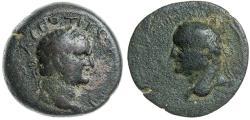Ancient Coins - KOINON OF CRETE, VESPASIAN AND TITUS, AD 69-79, AE 26