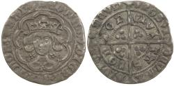 World Coins - English, Edward IV. Groat, first reign of AD 1461 to 1470.