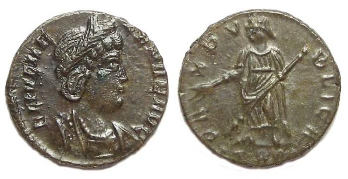 Ancient Coins - Helen, mother of Constantine the Great. AE 4.