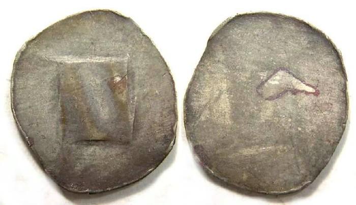 Ancient Coins - Austria, Vienna. Albrecht IV, AD 1395 to 1401. Silver Pfennig