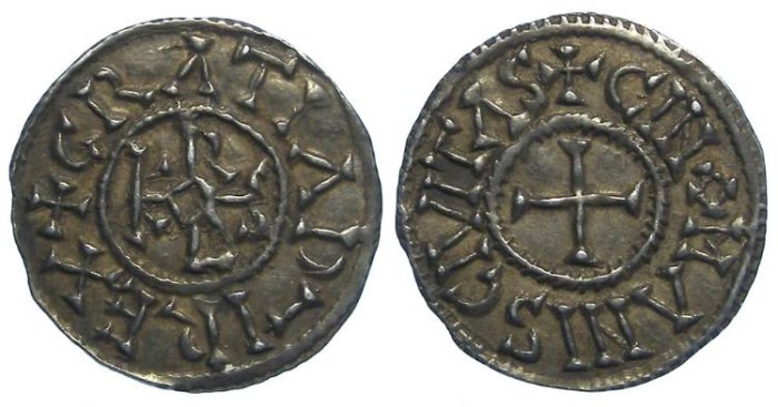Ancient Coins - Carolingian, Charles the Bald. AD 840 to 875. King of the West Franks.