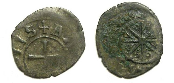 Ancient Coins - Crusaders in Tripoli. Bohemond V, AD 1233 to 1251.