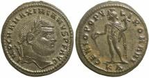 Maximianus, AD 286 to 310. AE follis. Well centered.