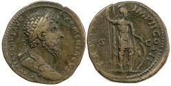 Ancient Coins - LUCIUS VERUS.  AD 161 TO 169.  AE SESTERTIUS.