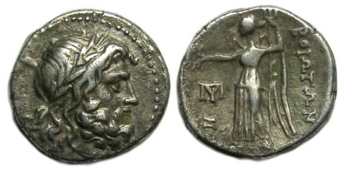 Ancient Coins - Boeotia, Federal coinage of 225 to 171 BC.