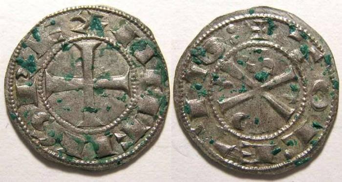 Ancient Coins - Spain, Castile.  Alfonso  VI, AD 1073-1105.