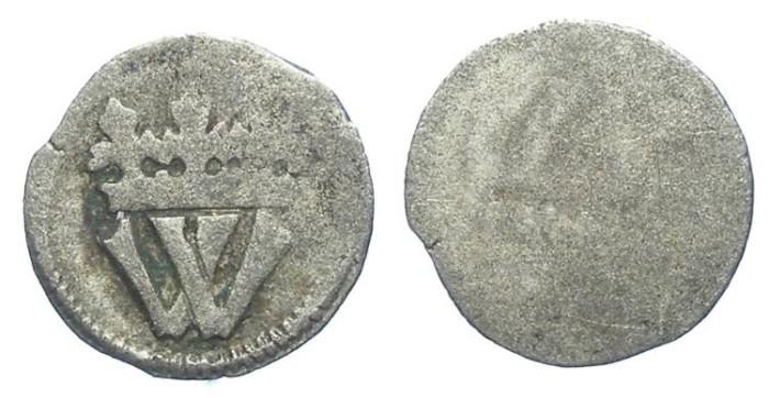 Ancient Coins - Bohemia.Wladislaus II, AD 1471 to 1516. Billon Schwarzpfennig.