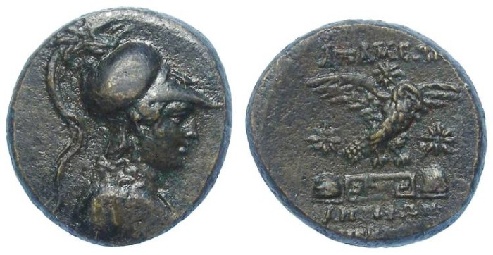 Ancient Coins - Apameia in Phrygia.  ca. 133 to 48 BC.  AE 23.