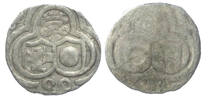 Ancient Coins - Austria, Salzburg. Wolf Dietrich Von Raitenau, 1587 to 1612.  Silver Zweier. Dated (15)89.
