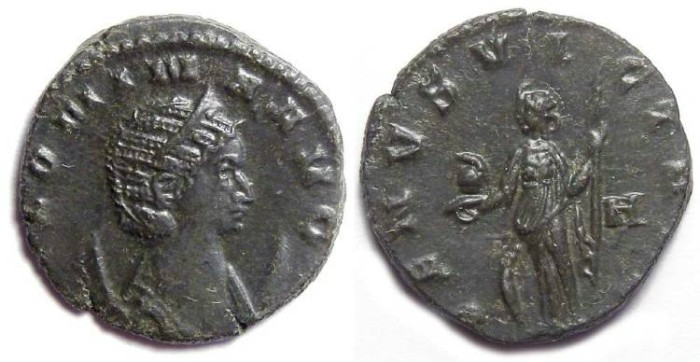 Ancient Coins - Salonina, AD 253 to 268. Billon Antoninianus