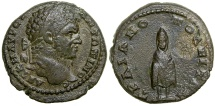 Ancient Coins - Caracalla. AD 198-217. AE 17.  Trajanopolis in Thrace.