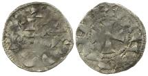 World Coins - Anglo-Gallic. Richard the Lion Heart. Duke of Aquitaine. AD 1172 to 1189. Silver Denier.
