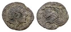 Ancient Coins - CELTIC.  GERMANIC. RHINELAND. AR QUINARIUS.  CA. 100 TO 50 BC.