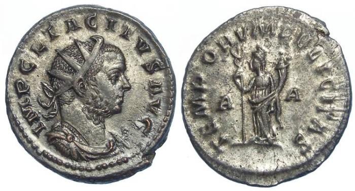 Ancient Coins - Tacitas, AD 275-276. Bronze antoninianus.