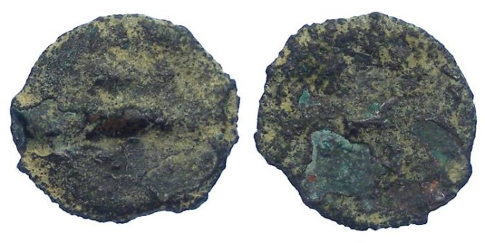 Ancient Coins - Judaea. Blank flan for an ancient Jewish coin.