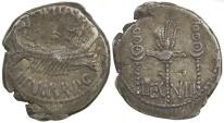 Ancient Coins - Mark Antony. 32 to 31 BC. Legionary denarius (legion VIII).