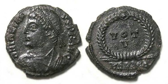 Ancient Coins - Jovian, AD 363-364.  AE-3