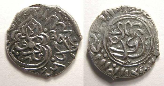 Ancient Coins - Safavid. Tahmasp I, AD 1524 to 1576. Silver 1/2 shahi.