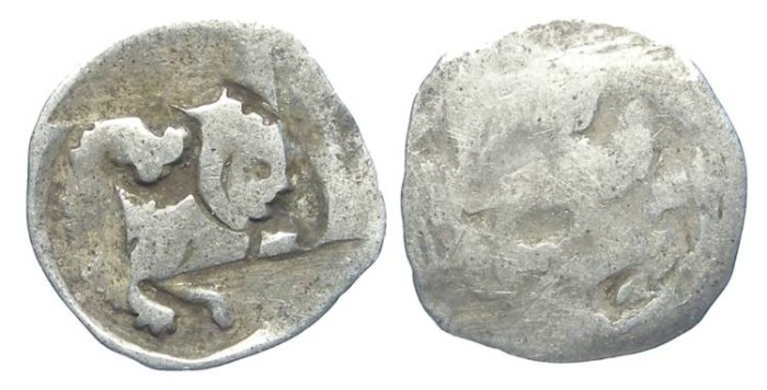 Ancient Coins - Austria, Enns.  Frederick the Handsome, AD 1308-1330. Silver Pfennig.