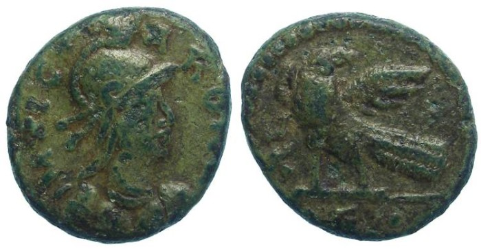 Ancient Coins - Ostrogothic Municipal Coinage of Rome. Prior to AD 536. AE Follis.