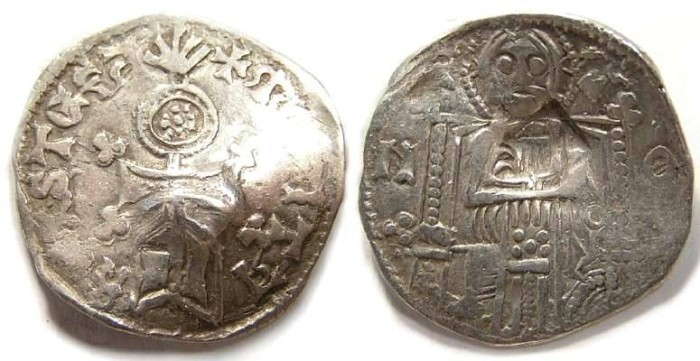 Ancient Coins - Serbia, Stefan Uros IV Dusan as King, AD 1331-1346.