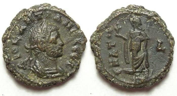 Ancient Coins - Diocletian, AD 284-305. Alexandrian Potin tetradrachm.