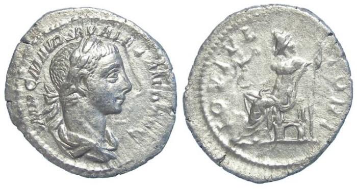 Ancient Coins - Severus Alexander. AD 222-235. Silver denarius.