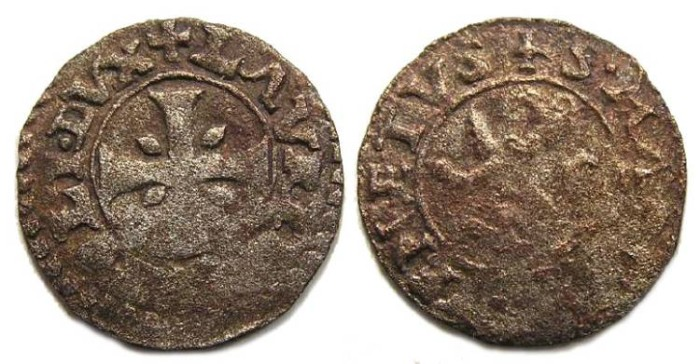 Ancient Coins - Cyprus under Venice. Lorenzo Priuli. 1556 to 1559.