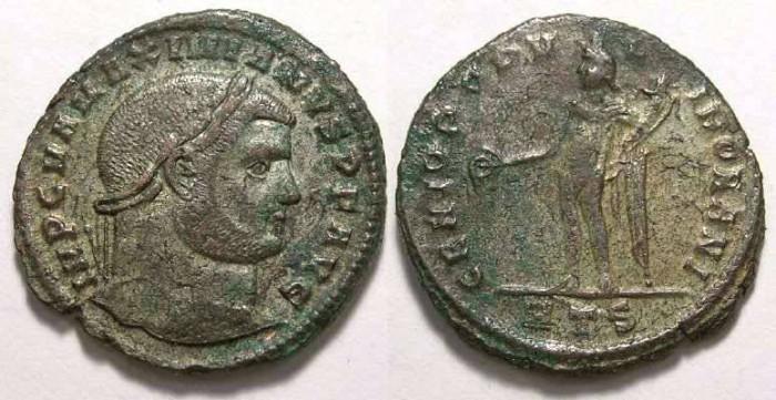 Ancient Coins - Galerius, as Augustus, AD 305-311. Bronze follis.