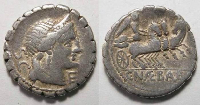 Ancient Coins - Roman Republic. C. Naevius Balbus. ca. 79 BC.