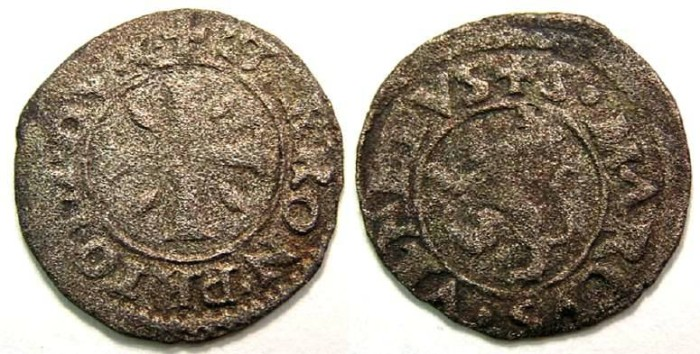 Ancient Coins - Cyprus under Venice. Girolamo Priuli. 1559 to 1567.