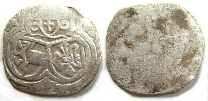 Ancient Coins - Austria, Salzburg. Matthaus Lang von Wellenburg, AD 1529. Silver 1/2 Kreuzer