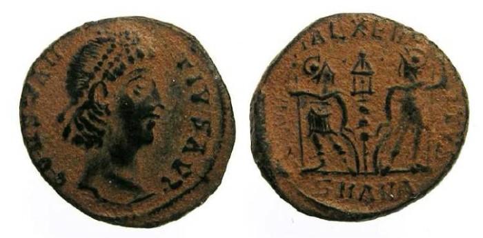 Ancient Coins - Constantius II, AD 337-361. AE 4.