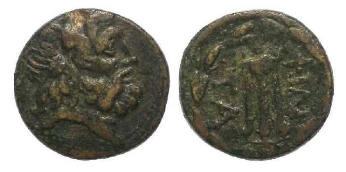 Ancient Coins - Pergamene Kingdom.  ca. 282 to 133 BC. AE 17 in the name of Philetairos.