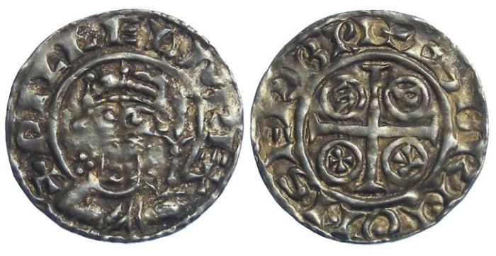 Ancient Coins - Britain, Norman. William I, ca. AD 1068 to 1087. Silver penny.