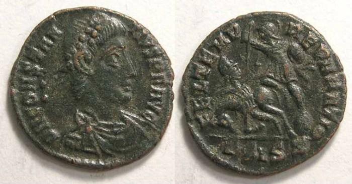 Ancient Coins - Constantius II, AD 337-361. AE 3.