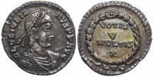 Julian II, AD 360 to 363.  Silver Siliqua.