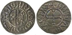 World Coins - Carolingian, Eudes denier, as King of the West Franks, AD 888 to 897.